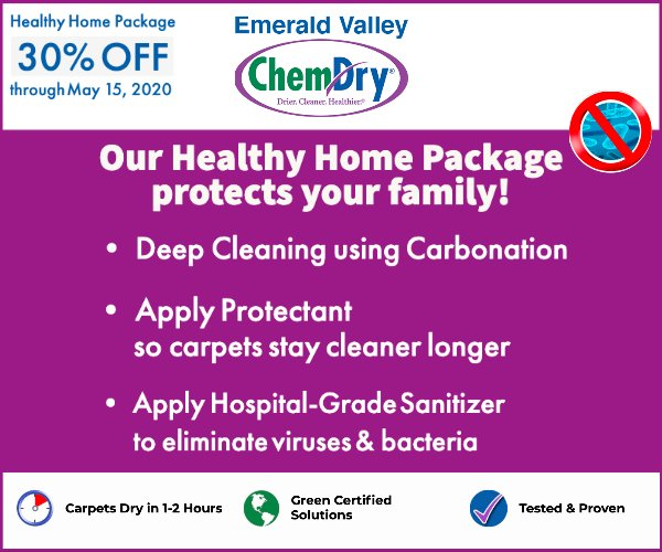 Emerald Valley Chem-Dry Area Rug Cleaners
